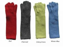 Cashmere 12 Inch Knit Gloves