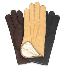 Cire Ladies Lambskin Shearling Lined Gloves