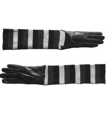 Cashmere & Leather Ladies Gloves