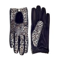 ICON Leather - Women's  Leopard Driving Gloves