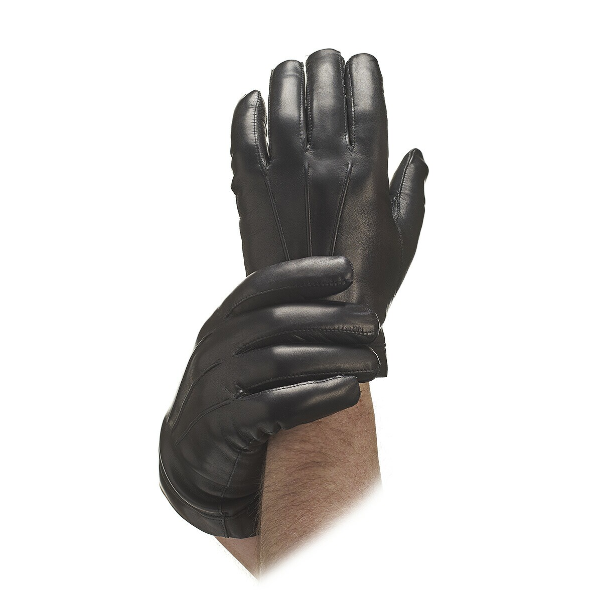 Mens black leather gloves xl - Mens Black Leather Gloves Xl 29