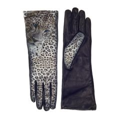 ICON Leather - Women's Snow Leopard Opera Gloves
