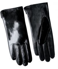 Ladies Patent Leather Gloves