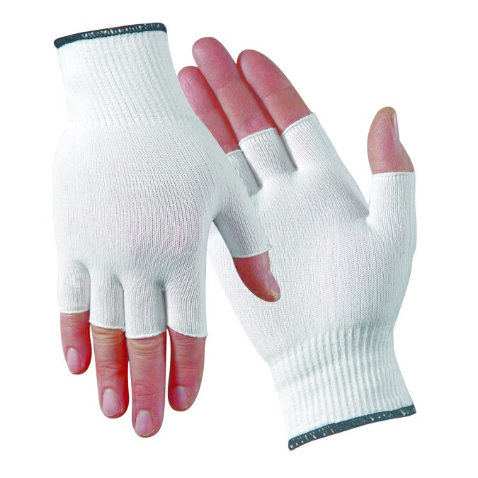Glove liners for latex gloves