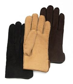 Cire Men's Lambskin Shearling Lined Gloves