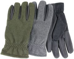 Cire Men's TouchTec Lined Sheepskin Leather Gloves