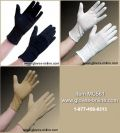 Cotton Beaded Grip Gloves - Extra Long