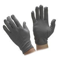 Stretch Nylon Gray Gloves