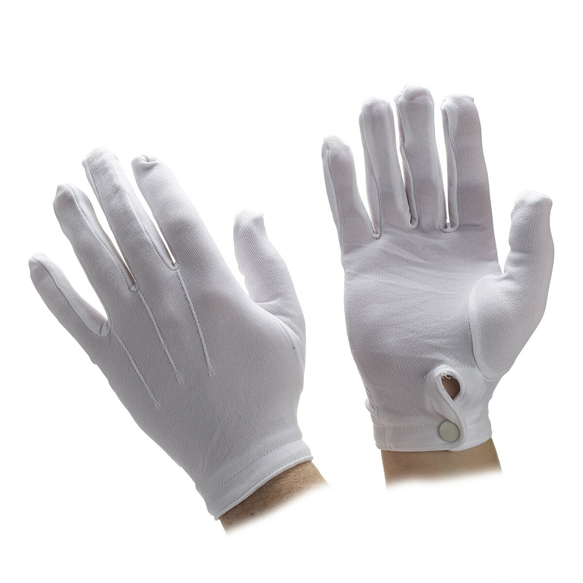0677571790 Unisex Stetch Nylon Gloves with Snap Wrist Closure | Parade Gloves ...