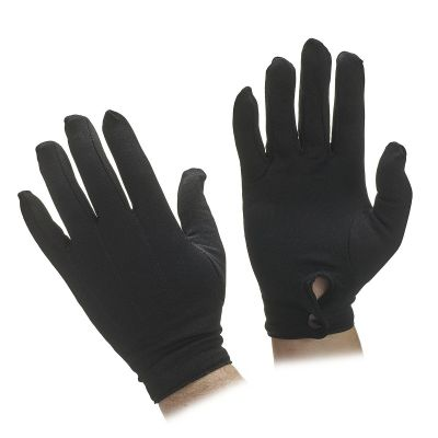 Unisex Stetch Nylon Gloves with Snap Wrist Closure
