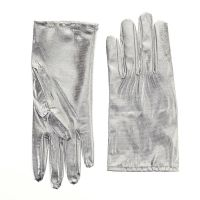 Metallic Gloves - Silver and Gold