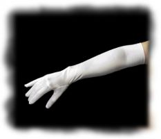 Above The Elbow Classic Satin Gloves