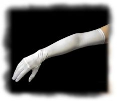 Opera Length Classic Satin Gloves