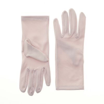 Nylon Dress Gloves for Children and Teens - Pink