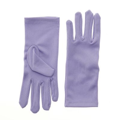 Nylon Dress Gloves for Children and Teens - Lilac
