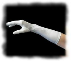 Below the Elbow Classic Satin Gloves