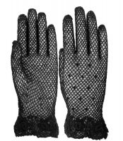 Classic Women's Crochet Lace Gloves