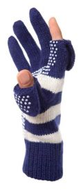 Freehands Woman's Knit Finger Cap Gloves