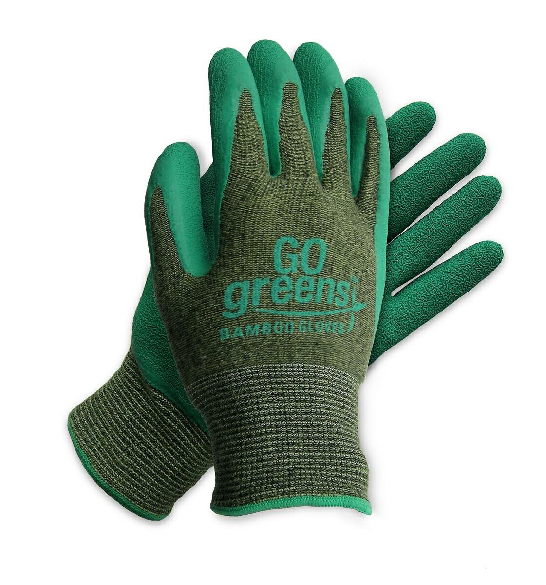 GO Greens Coated Bamboo Gloves Bamboo gloves GlovesOnline