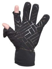 Freehands Men's Soft Shell Finger Cap Gloves