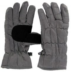 Ladies Nylon Quilted Commuter Gloves