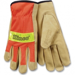 Kinco Hi-Vis Orange Mesh Gloves