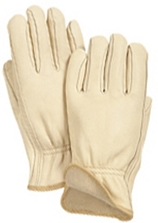 Wells Lamont Jersey Lined Premium Grain Cowhide Drivers Work Gloves