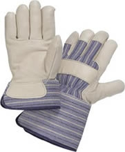 Wells Lamont Premium Grain Full Feature Leather Palm Gloves