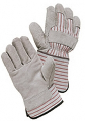 Wells Lamont Economy Grain Full Feature Leather Palm Gloves