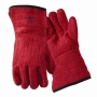 Red Heat and Flame Resistant Gloves size XL - 450F