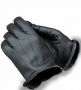 Men's Rabbit Fur Lined Leather Gloves