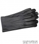 Women's Rabbit Fur Lined Lambskin Gloves