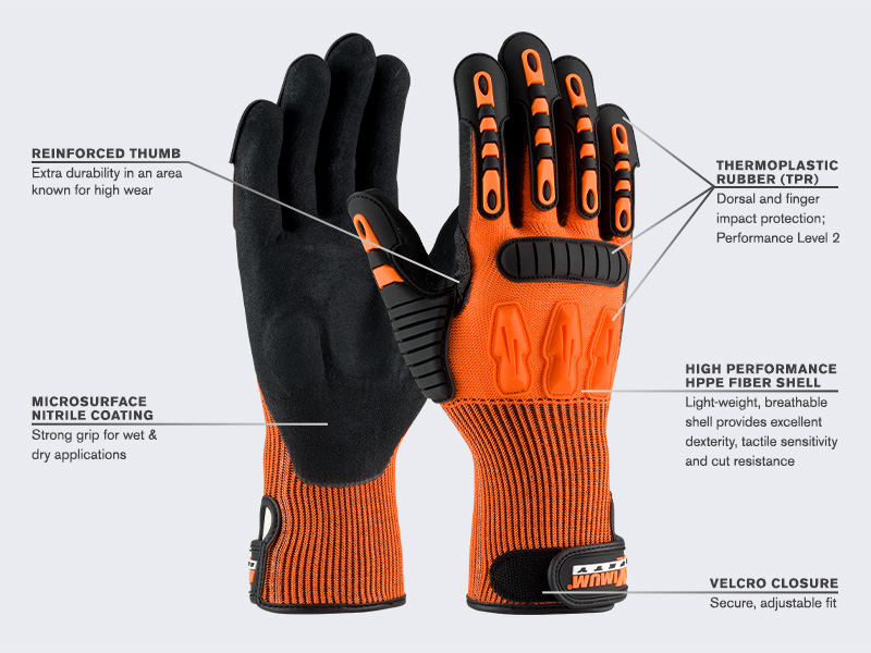 New Maximum Safety Tuffmax5 Gloves